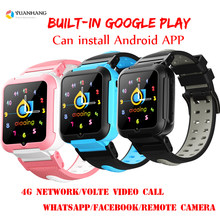 Smart 4G Remote Camera GPS WI-FI Child Student Whatsapp Facebook Smartwatch SOS Video Call Monitor Tracker Location Phone Watch(China)
