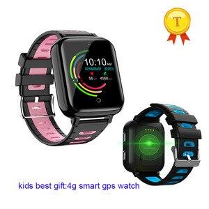 Image 4 - عالية الجودة whatsapp تويتر مكالمة فيديو متعددة اللغات smartwatch كاميرا أطفال 4G لتحديد المواقع ساعة ذكية بطاقة SIM الاطفال 4g lte ساعة طفل