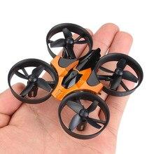 Mini RC Drone 2.4CHz 4CH Một chìa khóa Trở Lại 360 Độ Cuộn 6 Trục Con Quay Hồi Chuyển Chế độ không đầu Di Chuột RC máy bay trực thăng Quadcopter Ánh Sáng LED