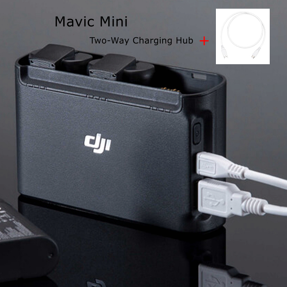 Battery Charger For DJI Mavic Mini Two-Way Battery Charging Hub Drone Adapter Outdoor Accessories