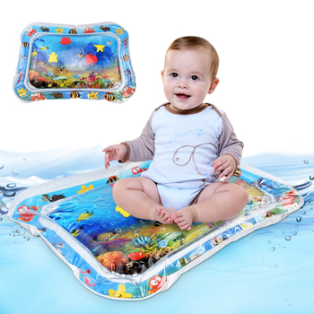 Baby Water Mat Inflatable Cushion Infant Toddler Water Play Mat for Children Early Education Developing Baby Boy Summer Toys
