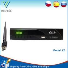 Newest DVB T2 digital receiver supports FTA H.265/ HEVC DVB T h265 hevc dvb t2 hot sale Europe Russia Czech Republic Germany