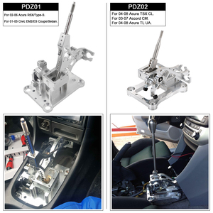 Image 5 - Billet Shifter Box Assembly For 03 07 Accord CL7 CL9 & 04 08 TSX & TL Gear Shift Knob Shifter Replacement PQY PDZ002