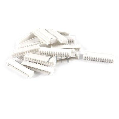 10 Pcs 2.54mm Pitch 13 Pin Single Row Straight IDC Pin Headers|Connectors| |  - title=
