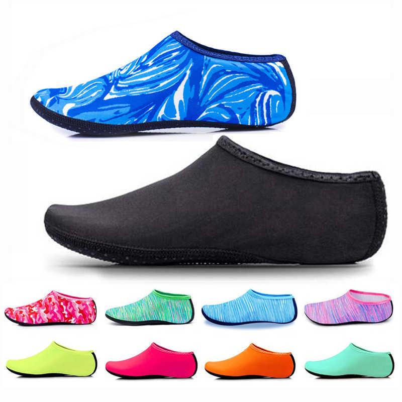 Mens Womens Socks Water Aqua Shoes Slip On Fitness Plus Size Beach Surf Swimming