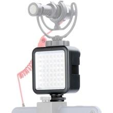 Ultra Helle LED Video Licht Panel Mit Kalten Schuh für Gopro Hero 8 7 6 5 Nikon Sony DSLR DJI osmo Action Kamera Zubehör Set
