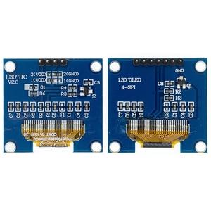 Image 2 - 10 個 1.3 インチのoledモジュールホワイト/ブルーspi/iic I2C通信色 128X64 1.3 インチoled液晶ledディスプレイモジュール 1.3 「oledモジュール