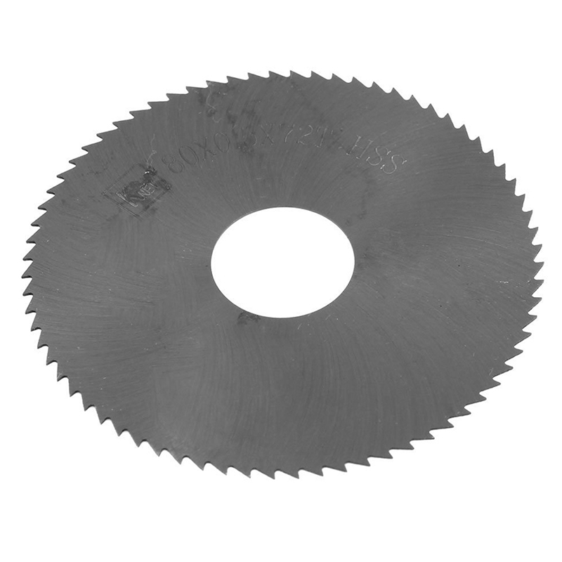 BMBY-72 Teeth HSS 80 Mm X 0.5 Mm X 22 Mm, Longitudinal Saw Blade Spare Part