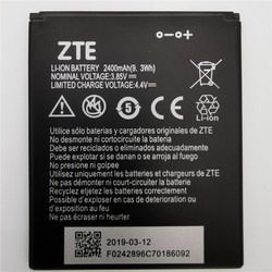 2019 Years 100% Original High Quality 2400mAh Li3824T44P4h716043 Battery For ZTE Blade A520 A521 BA520 Mobile Phone Battery