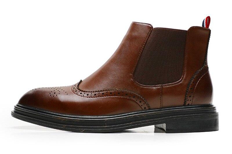 outono início do inverno botas casuais botas
