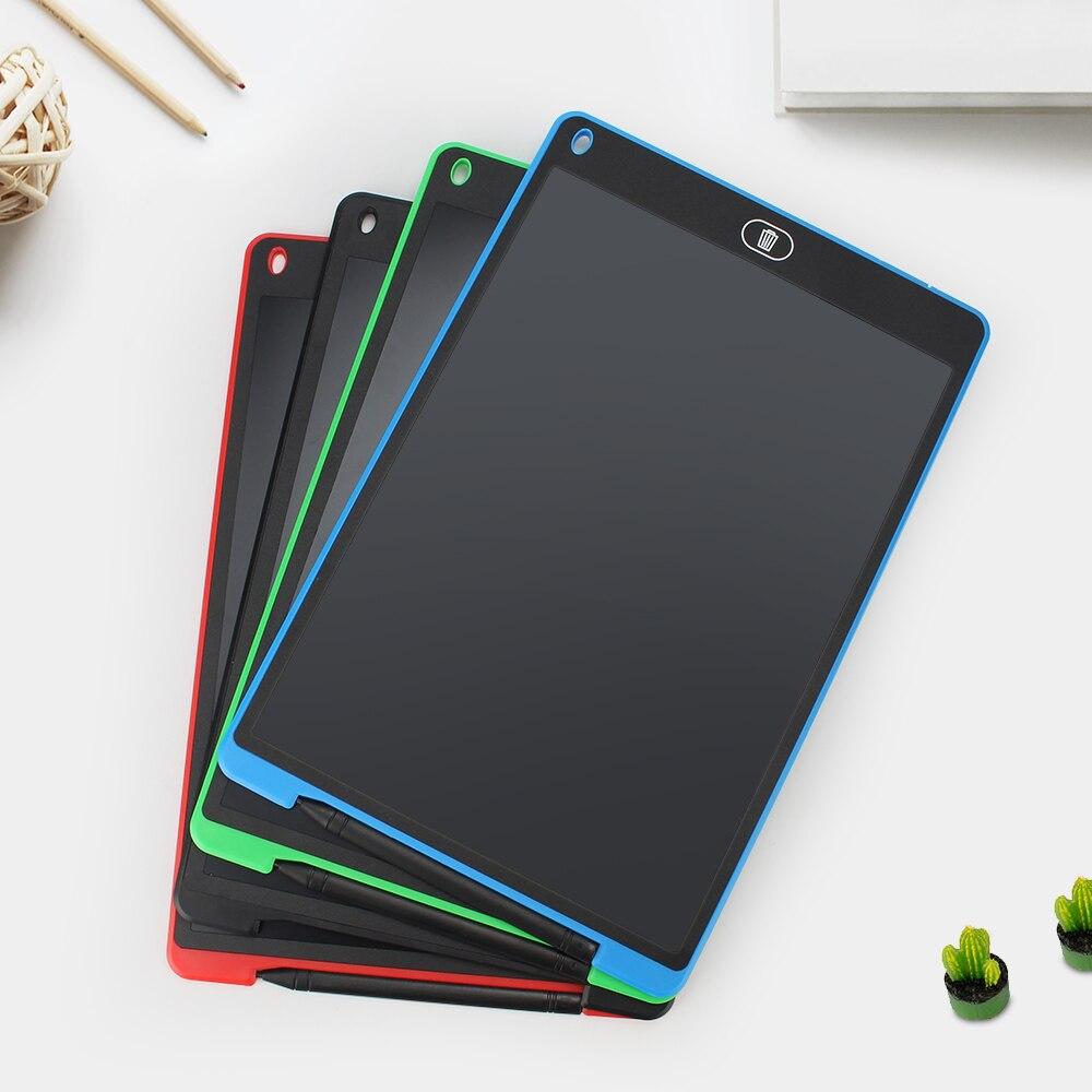 Gráficos Tablet de Desenho Digital Tablet LCD Escrita Tablet 8.5 12 Polegada Com almofadas de Escrita Prancheta Caneta Touch Pad Sem Fio