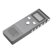 Rechargeable MP3 WMA Portable Zinc Alloy Voice Recorder Sound Audio Noise Reduction Meetings Microphone Digital HD Mini Lectures