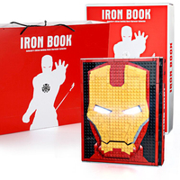 2020 NEW Spiderman Iron Man Figures Collection Book Model Set Infinity War Building Blocks Avengerss Marvel Toys For kids gifts