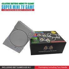 8 бит чехол для телефона в виде ретро-игровой Мини Классический AV TV видео игровой консоли Bulit в 620 игры для портативных игровых приставок