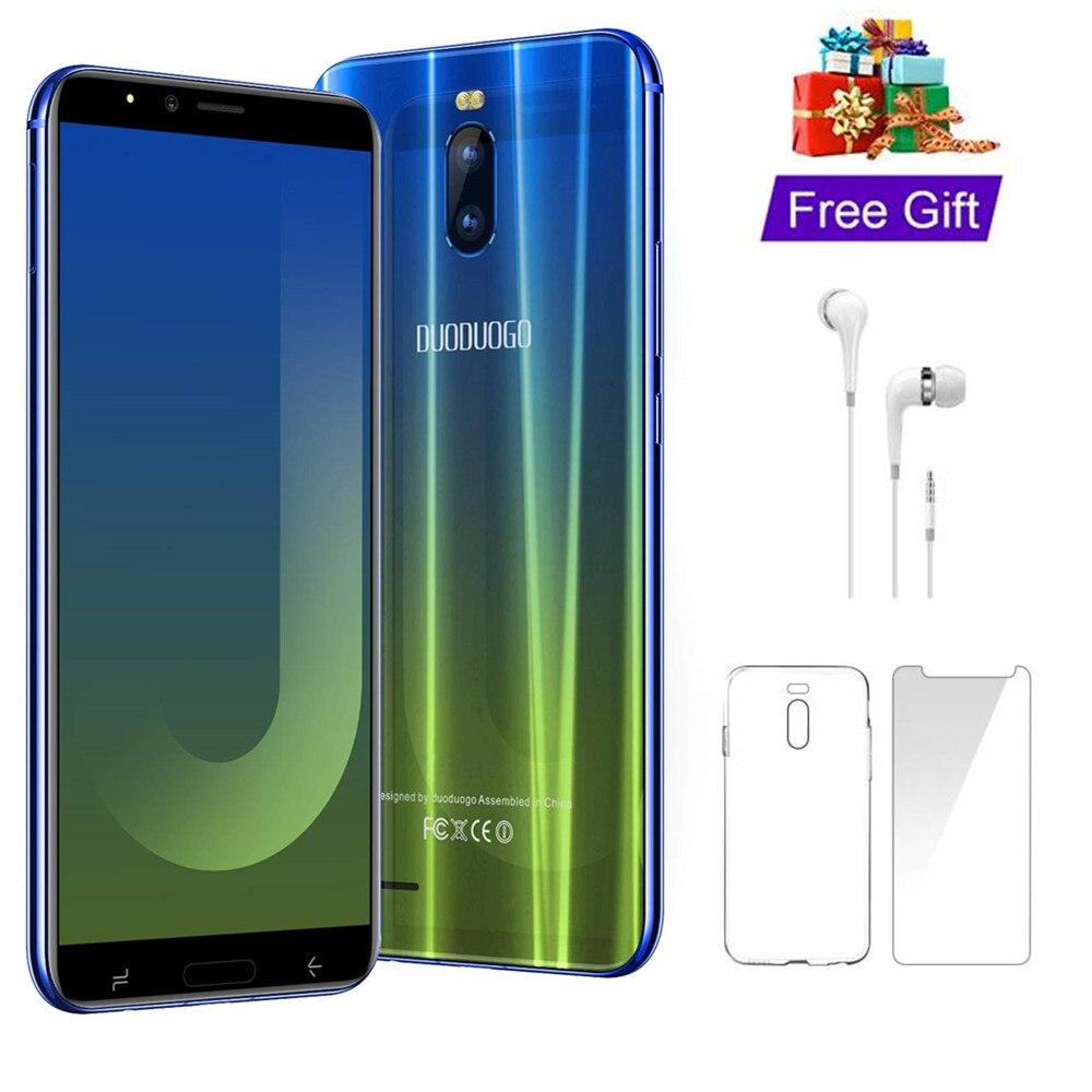 Duduogo j6 + telefone celular android 8.1 3 gb ram 16 gb 6.0