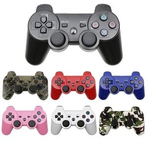 Image 1 - 무선 블루투스 원격 게임 조이패드 컨트롤러 PS3 Controle 게임 콘솔 조이스틱 PS3 콘솔 게임 패드 PC 용