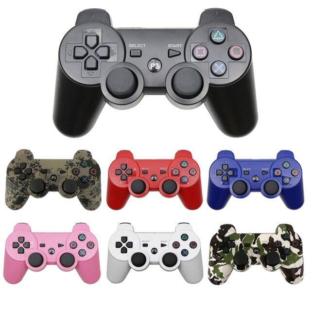 Sem fio bluetooth controle remoto jogo joypad controlador para ps3 controle gaming console joystick para ps3 console gamepads para pc