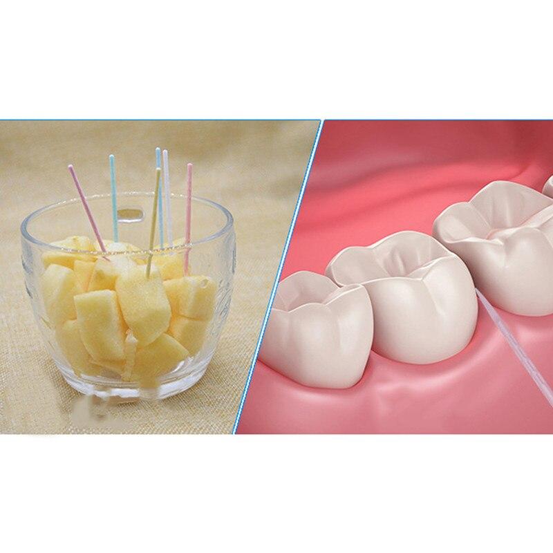 1 посылка, мягкий пластиковый щеточный зуб для ухода за полостью рта, 6,5 см, горячая распродажа, зуб для чистки зубов, зуб для ухода за зубами
