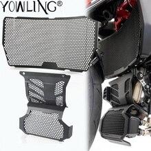 Motorrad Kühler Schutzfolie Grille Grill Abdeckung Für Ducati Hypermotard 939 950 SP Hyperstrada 939 Motor Schutzfolie