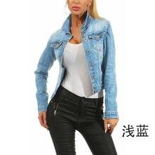 Женская джинсовая куртка коллекция 2020 года женская зимняя