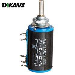 Potenciómetro rotativo de WXD3-13-2W, 4,7 K, 10K, Ohm, potenciómetro multivuelta