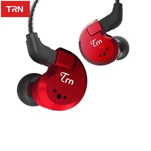 Image 3 - TRN V80 2BA+2DD Hybrid Metal In Ear Earphone HIFI DJ Monito Running Sport Earphone Earplug Headset im2\im1\ie80\x6\p1\n1\T2\V30