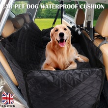 Pet Dog Cat Car Rear Back Seat Carrier Cover Black Waterproof Dogs Cats Car Seat Cover Mat Blanket Hammock Cushion Protector car seat cover dog car mat for dog waterproof pet dog carrier cars rear back seat mat hammock cushion protector