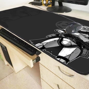 XGZ Cool Star Wars Large Gaming Keyboard Mouse Pad Desk Mat Table Mousepad Office with Locking Edge Size 60cm 70cm 80cm 90cm XXL 5