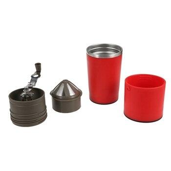 Manuale Macchina Per Il Caffè A Mano Pressione Per Caffè Espresso Portatile Macchina Per Il Caffè Premendo Bottiglia Pentola Strumento Di Caffè Per L'uso Corsa Esterna