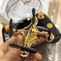 Радиоуправляемый квадрокоптер  Мини карманный Дрон с камерой HD 2 4G 4CH 3D  с откидной головкой  режим  вертолет  игрушки VS S9hW S9