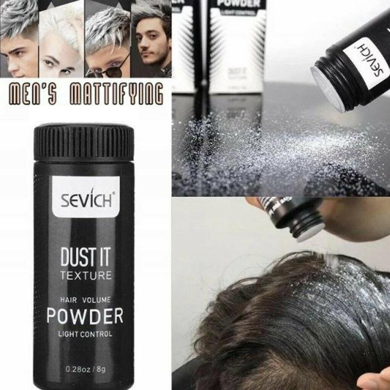 Remove Oil Quickly Hair Mattifying Powder Refreshing Fluffy Effective Modeling Natural Volumizing Styling No Need Wash Hair