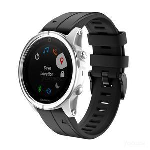 Image 5 - Ремешок YOOSIDE для часов Fenix 6S, 20 мм, Быстросохнущий Силиконовый водонепроницаемый спортивный браслет для Garmin, Fenix, 5S, Plus, Смарт часы