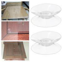 Ventosas de doble cara para el hogar, 20/30/35/50mm, almohadillas antideslizantes de vidrio de PVC, 10 Uds.