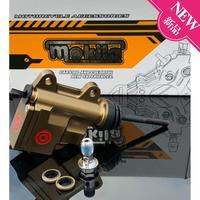 Universal Motorrad änderung zubehör Motorrad Hinten Brems Master Zylinder Brems Pumpe 13mm Kolben