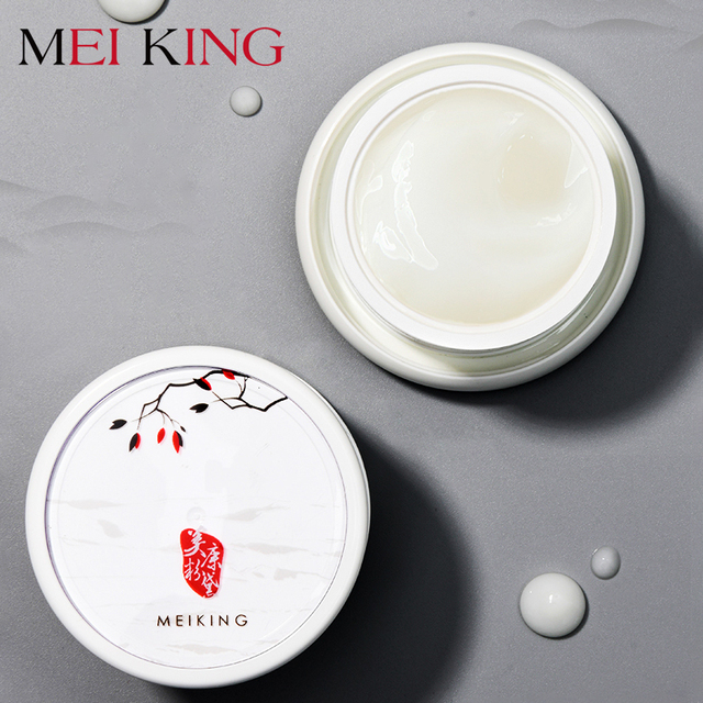 MEIKING Whitening Face Cream Anti Wrinkle Anti Acne Day Moisturizing Cream Skin Care Shrink pores Tight Resveratrol Facial Cream