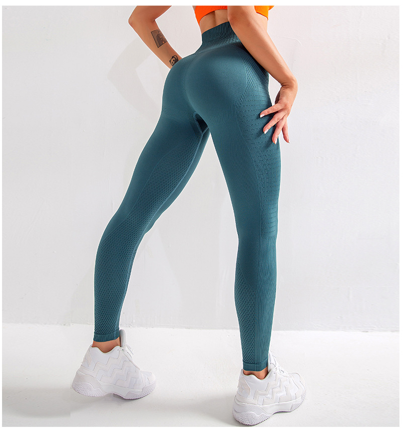 Legging sculptant sans couture taille haute Push Up