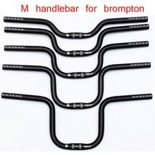 540mm ultra léger vélo pliant M guidon pour Brompton pliant vélo guidon AL7005 2 couleurs 5 taille