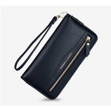 Senhora carteira feminina 2021 quente multi função de couro longo carteira multi cartão segurando zíper moned saco embreagem bolsa feminina