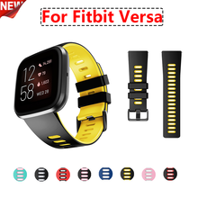 Replacement Band For Fitbit Versa/Versa Lite Strap Soft Silicone Waterproof Wristband Bracelet For Fit bit Versa Smart Watches