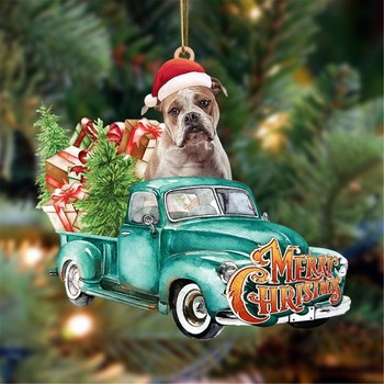 Dog Lovely Christmas Tree Gift 1