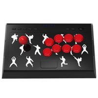 3D Joystick for PC X input/Nintend Switch Game Handle Rocker Fight Stick for Switch Action Game Controller for NS Accessories