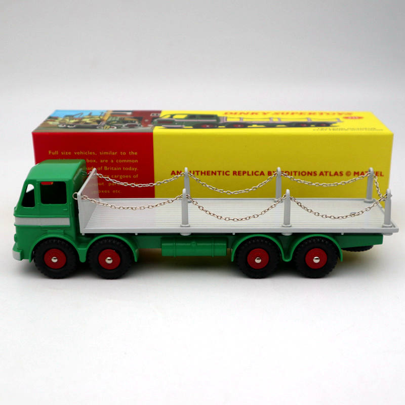 Atlas Dinky Toys 935 Leyland Octopus Flat Truck With Chains Diecast Models Collection Car Gift