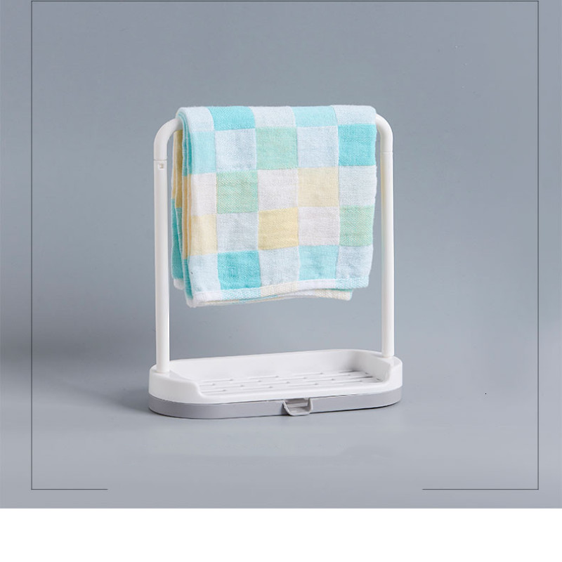 Drain Kitchen Towel Rack Bathroom Towel Holder Vertical Towel Hanger Bathroom Kitchen Towel Rack