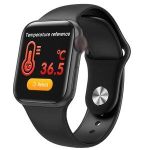 Image 5 - Lerbyee สมาร์ทนาฬิกา W58pro Body อุณหภูมิ Heart Rate Monitor บลูทูธฟิตเนส Tracker Call Reminder ผู้ชายผู้หญิง Smartwatch 2020