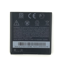 2pcs NEW Original 1520mAh BG58100 battery for HTC G14 G17 G18 G21 G22 S610d High Quality Battery+Tracking Number стоимость