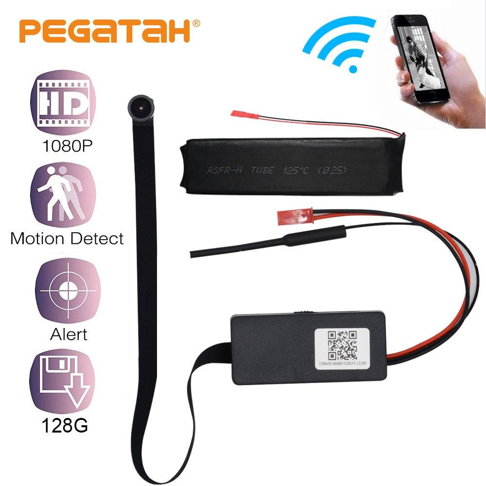 1080P HD Mini Câmera wi-fi DV Camcorder motion Monitoramento Remoto Apoio TF Cartão de gravação IP Câmera com Bateria