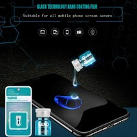 Advanced Tech Liquid Glass Screen Protector 9H Hard Anti Scratch Coating For Smartphone Tablet Watch Camera Laptop