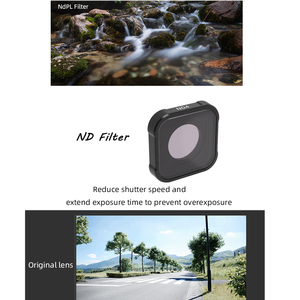 Image 4 - Hero 9 action Camera Lens Filters Set UV CPL ND4/8/16/32/64 Star Night Diving pink red for GoPro Hero 9 black Filter Accessorie