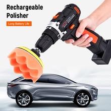 Car-Polisher-Set Polishing-Machine Power-Screwdriver Variable-Speed Cordless-Drill/driver-Kit