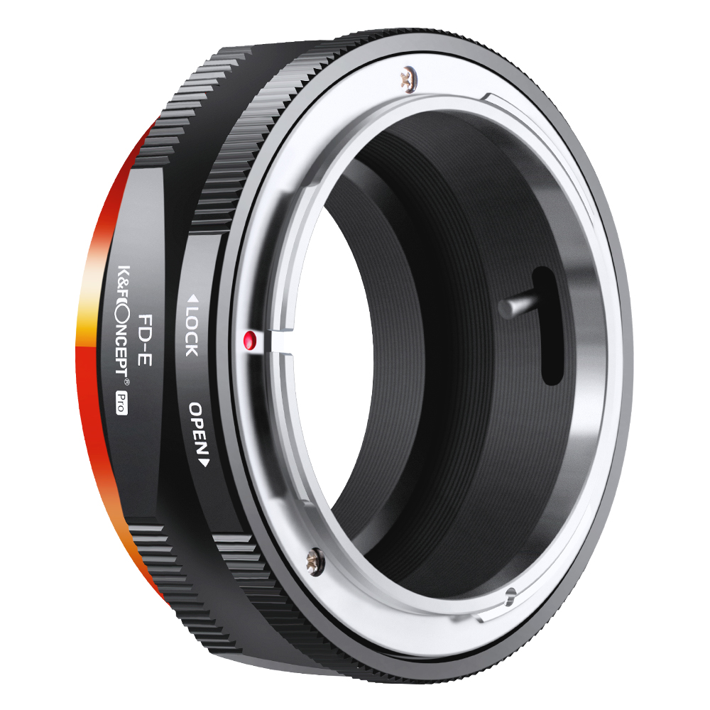 K&F Concept FD To E Mount Lens Mount Adapter For Canon FD FL Mount Lens To E NEX Mount For Sony A6000 A6400 A7II A5100 A7 A7RIII